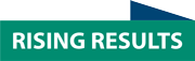 Rising Results logo